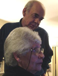 Alan Plater and Shirley Rubinstein