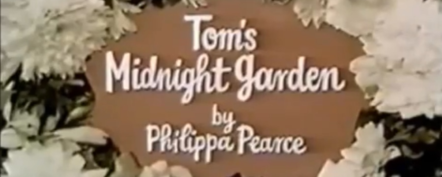 Tom's Midnight Garden title card from BBC 1974