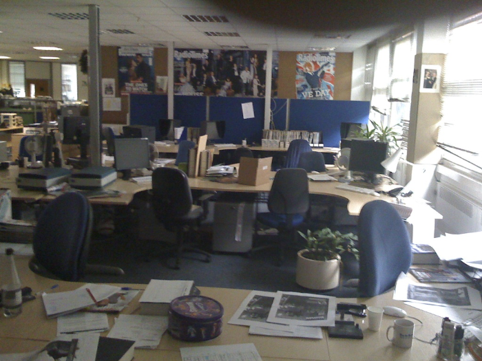 Radio Times office 2008